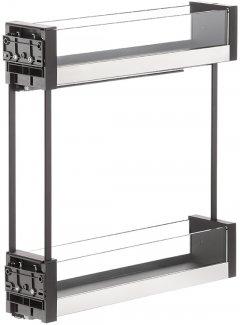 Карго Vibo Essence 150 мм графит/стекло (VR46688)