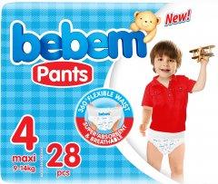 Подгузники-трусики Bebem Twin 4 maxi 9-14 кг 28 шт (6224009614851)