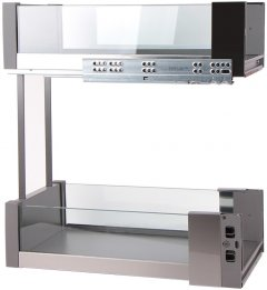 Карго Vibo Essence 300 мм графит/стекло (VR46691)