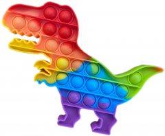 Игрушка антистресс Pop It Дино 22 см разноцветный (2000024273013)