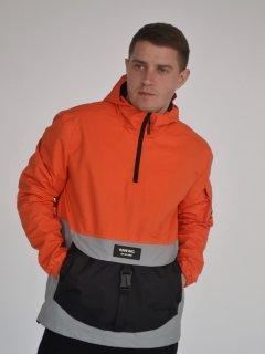 Анорак Riccardo АМ-01 S (46) Оранжево-серый (ROZ6400145354)