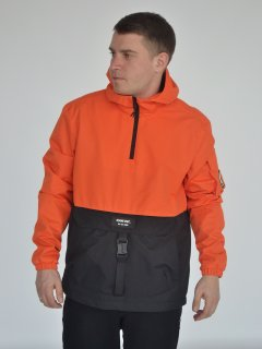 Анорак Riccardo АМ-01 S (46) Оранжево-черный (ROZ6400145359)