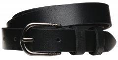Женский кожаный ремень Laras VN-GEN25W-110x3 Черный (ROZ6206113817)