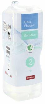 Двухкомпонентное средство Miele для стирки цветного и белого белья Ultra Phase 2 Sensitive (11997135RU)