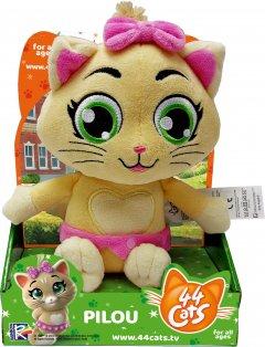 Мягкая игрушка 44 Cats Пилу с музыкой 20 см (34243) (4894386342436)