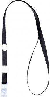 Набор шнурков для бейджа Axent с силиконовым клипом Черный 20 шт (4551-01-A)