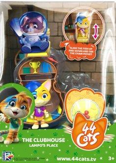 Игровой набор 44 Cats фигурка Спалах с домиком (34131) (4894386341316)