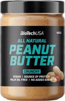 Заменитель питания BioTech Peanut Butter 400 г Хрустящий (5999076235117)