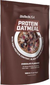 Заменитель питания BioTech Protein Oatmeal 1000 г Банан-яблоко (5999076236442)