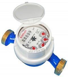 """Счетчик для холодной воды BAYLAN КК-14 ХВ DN20 (IMP.) класс точности """"В""""/R=100"""