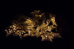 Светодиодная гирлянда Devilon в форме звезды на батарейках 20 ламп 4.3 м теплый белый (652440)