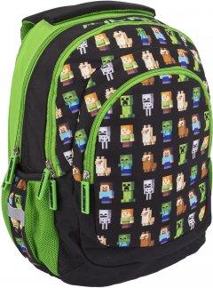 Рюкзак подростковый Minecraft AB330 Minecraft Multi Characters 39x28x17 см 20 л (502021200)