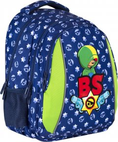 Рюкзак подростковый BS AB320 Leon 39x28x15 см 20 л (502021015)