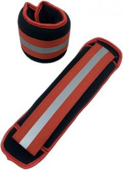 Утяжелители нейлоновые Newt 2 шт по 1 кг Красные (NE-17-2R)