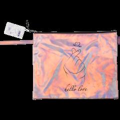 Папка для тетрадей ZiBi A4 Love розовая (ZB.705501)