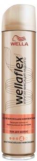 Лак для волос Wella Wellaflex С увлажняющим комплексом Экстрасильная фиксация 250 мл (4056800012404)