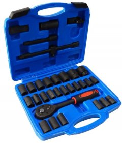 Набор инструментов Forcekraft ударных 32 шт в кейсе (FK-4323-5MPB)
