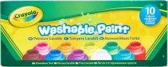 Набор красок в бутылках Crayola Classic Washable 10 шт (256324.006) (0071662112059)