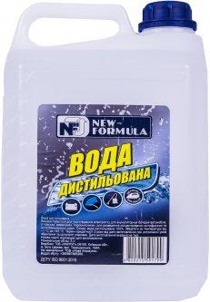 Вода дистиллированная NEW FORMULA 5 л (4820215591799)
