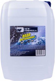 Вода дистиллированная NEW FORMULA 20 л (4820215591775)