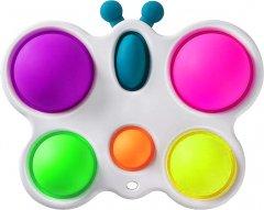 Игрушка антистресс Simple Dimple Бабочка белая (2000992408882)