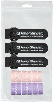 Набор органайзеров для кабеля ArmorStandart Smart Home-3 9 шт (3PS+3LV+3 RewBK) (ARM58665)