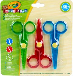 Набор ножниц Crayola Mini Kids 3 шт (256411.118) (0071662681197)