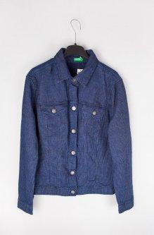 Джинсова куртка United Colors of Benetton М синий 2DE95P335