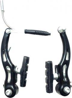 Тормоза Sunrun V-Brake CB-117F + R передние + задние (30081)