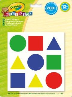 Набор стикеров Crayola Mini Kids Цвета и формы 200 шт (256412.124) (5010065930001)