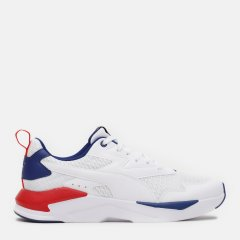 Кроссовки Puma X-Ray Lite Summer 38065802 44.5 (10) 29 см White-White-Elektro Blue-High Risk Red (4063697981799)