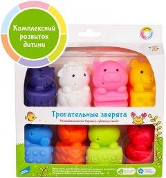 Набор развивающих игрушек для купания Fancy Baby Трогательные зверята (4814723005510)