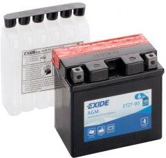 Мото аккумулятор Exide AGM 6 Ah Ев (-/+) 100EN (ETZ7-BS)