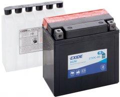 Мото аккумулятор Exide AGM 9 Ah (+/-) 120EN (ETX9C-BS)