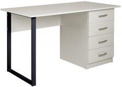 Стол Новый Стиль TWINKS ordf BLACK 1100 х 500 х 750 мм Белый (СТОЛ TWINKS BLACK 1100*500*750 БЕЛ)