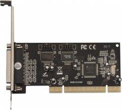 Плата расширения Frime PCI to RS232+LPT (2 порта RS232 + 1Порт LPT), MCS9865 (ECF-PCIto2S1PMCS9865.LP)