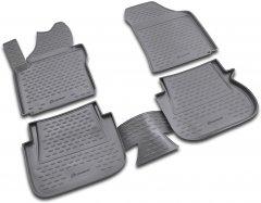 Автоковрики Autofamily VW Caddy 10/2007-2014 4 шт. полиуретан (NLC.51.18.210K)
