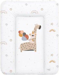 Матрас пеленальный на комод Ceba Baby 70х50 см мягкий Giraffe (W-143-000-637)