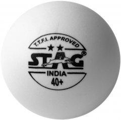 Мячи для настольного тенниса Stag Two Star White Ball 3 шт (TTBA-400)