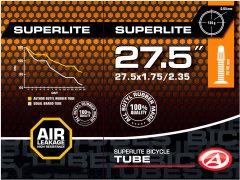 "Велокамера Author AT-MTB-27.5"" SuperLite FV40 27.5x1.75/2.35 в коробочке (37227202)"