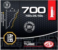 Велокамера Author AT-CROSS-700C Wide AV40 700x35/50C в коробочке (37238011)