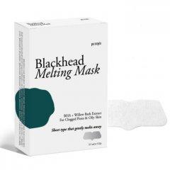 Тающая маска для носа против чёрных точек Petitfee Blackhead Melting Mask 2.5 мл (8809508850894)