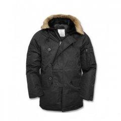 Куртка Аляска чорна N3B Mil Tec (M)