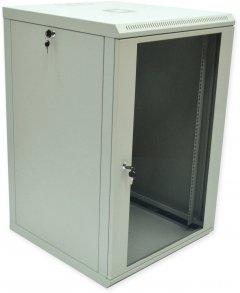 Шкаф монтажный настенный CMS 18U Серый (UA-MGSWL186G)
