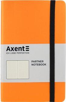 Записная книга Axent Partner Soft 125х195 мм в точку 96 листов Оранжевая (8310-12-A)