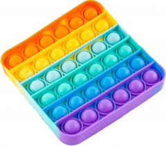 Игрушка антистресс Sibelly Pop It Rainbow Square (SB-PPIT-RNB-SQ) (9869205468500)