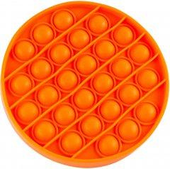 Игрушка антистресс Sibelly Pop It Mono Circle Orange (SB-PPIT-CRCL-OR) (9869205468548)