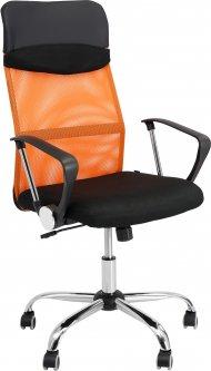 Кресло офисное RZTK Dzen Orange/Black (DZN01 OB)