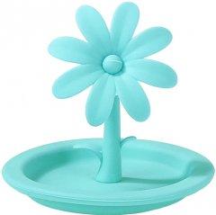 Крышка для кружки Fissman Цветок 9 см Turquoise (AY-8711.DV_mi)