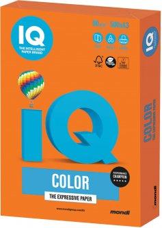 Бумага офисная IQ Color OR43 A3 80 г/м2 500 листов Оранжевая (9003974400747)
